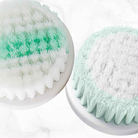 remington reveal compact facial cleansing brush with antimicrobial brustles fc500