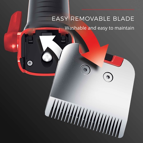 easy removable blade hc9700