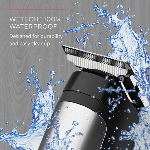 WETech™ 100% Waterproof - Designed for durability and easy cleanup