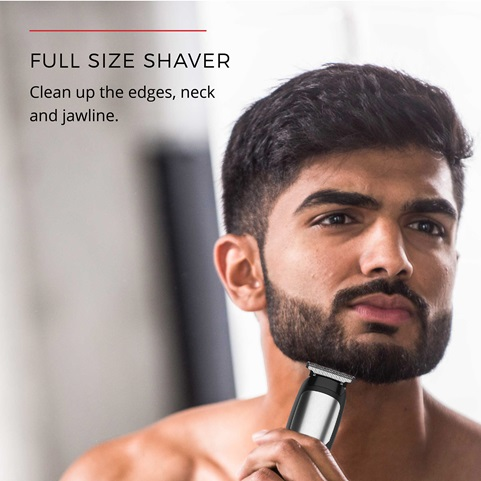 Full Size Shaver - Clean up the edges, neck and jawline