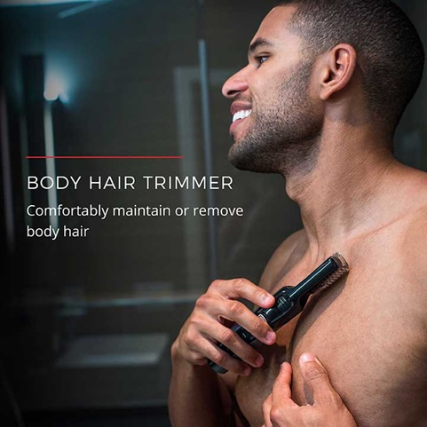 Body Hair Trimmer | Comfortably maintain or remove body hair
