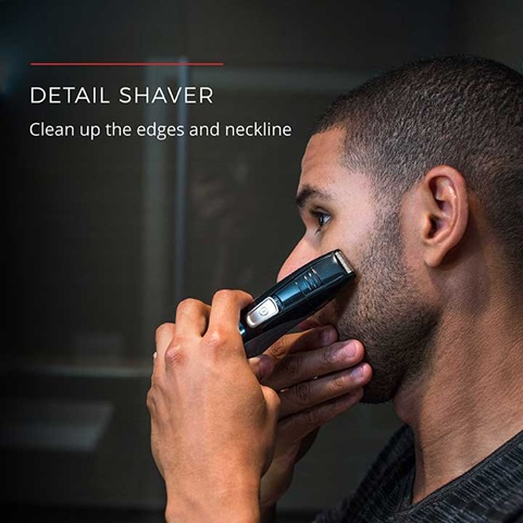 Detail Shaver | Clean up the edges and neckline