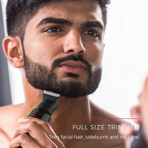 Full Size Trimmer | Trim facial hair, sideburns and neckline | PG6110