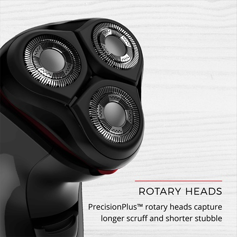 remington Power Series Rotary Shaver showing close up of head  pr1335