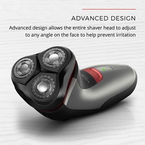 remington Power Series Rotary Shaver R4 with advanced design pr1340