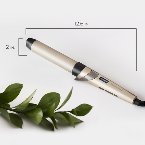 "CI8A931 1¼"" Curling Wand with Color Care Technology Product Scale Image"