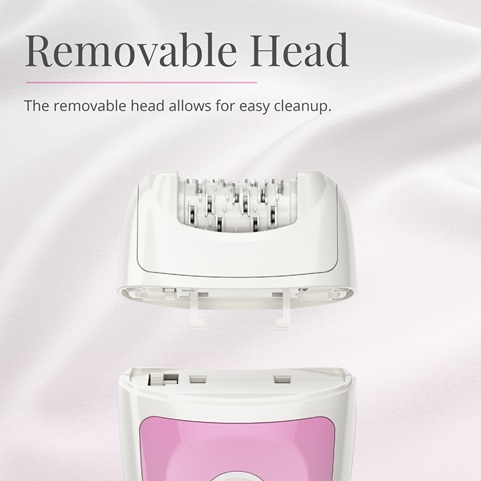 remington smooth and silky essential epilator with removable head ep7010d