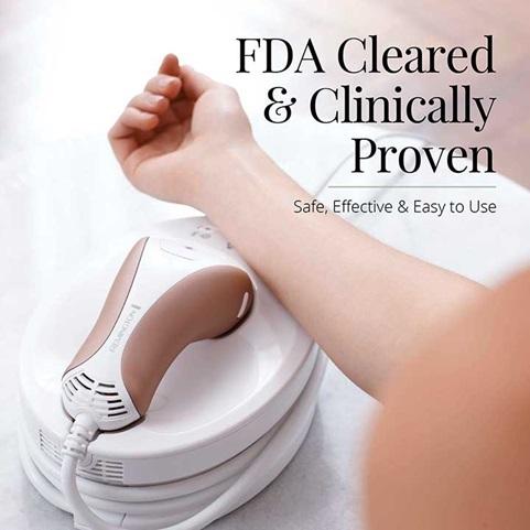 FDA Cleared and Clinically Proven Safe, Effective and Easy to Use