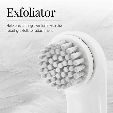 remington smooth and silky 5 piece body and bikini groomer exfoliator WPG4050