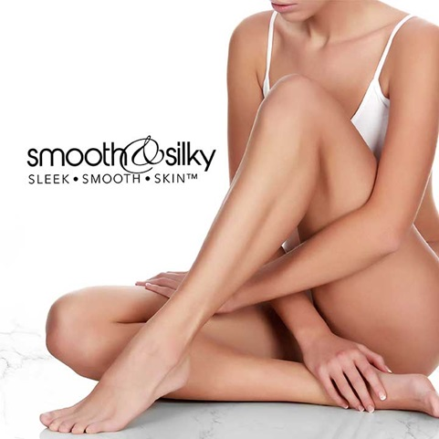 Smooth and Silky Logo | Sleek, smooth, skin™