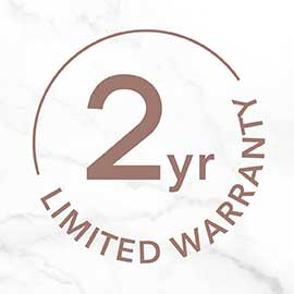 2 Year Limited Warranty H1015H