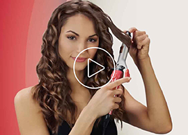 1 inch 2 in 1 curling iron video thumbnail