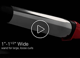silk ceramic wide styling wand video thumbnail