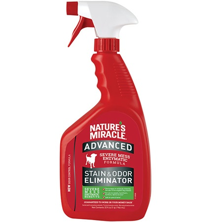 Advanced Stain And Odor Eliminator For Dogs Amp Nature S Miracle
