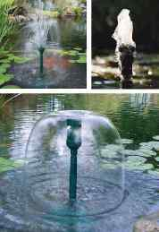 how to make a fountain without a pump