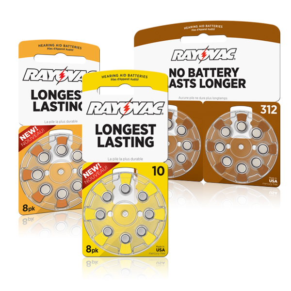 Retail Hearing Aid Batteries