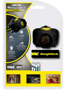 RoughNeck™ 80 Lumen Hands Free Headlight