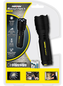 RoughNeck™ 200 Lumen Metal Flashlight