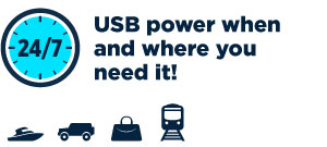 USB power when and where you need it!