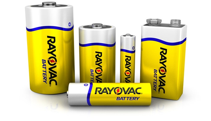 RAYOVAC® zinc carbon batteries