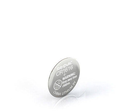 RAYOVAC® lithium coin cell batteries
