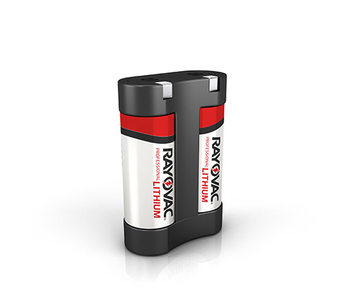 RAYOVAC® professional photo lithium batteries