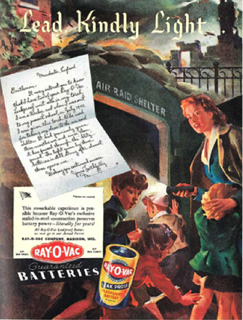 Rayovac Inventors and Visionaries 1939