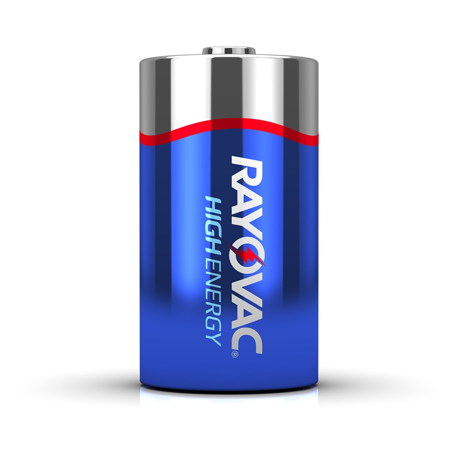 Rayovac High Energy D 8-Pack Alkaline Batteries