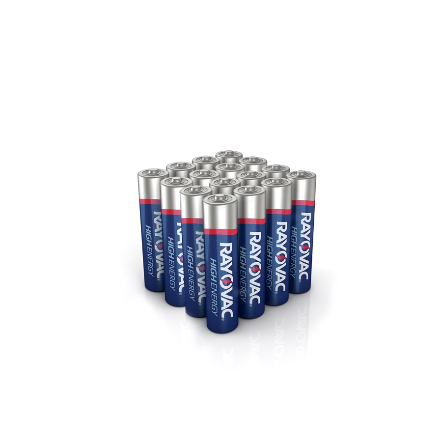 RAYOVAC® fusion™ aaa 16 pack batteries