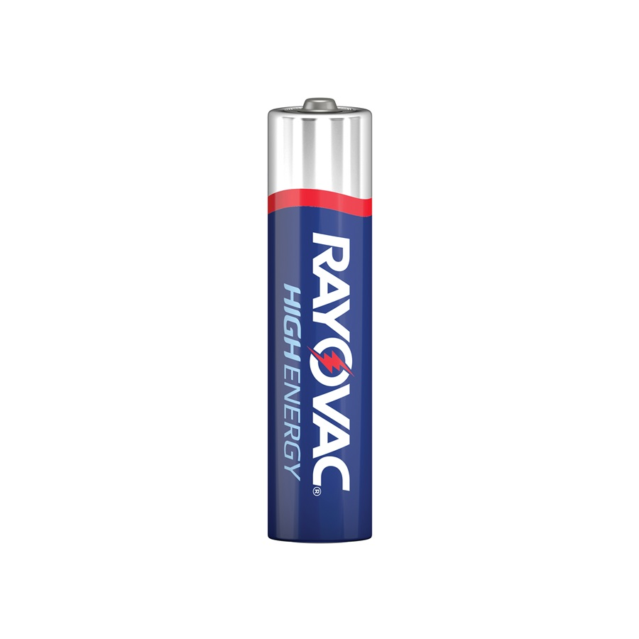 Rayovac Alkaline High Energy AAA 4 Pack
