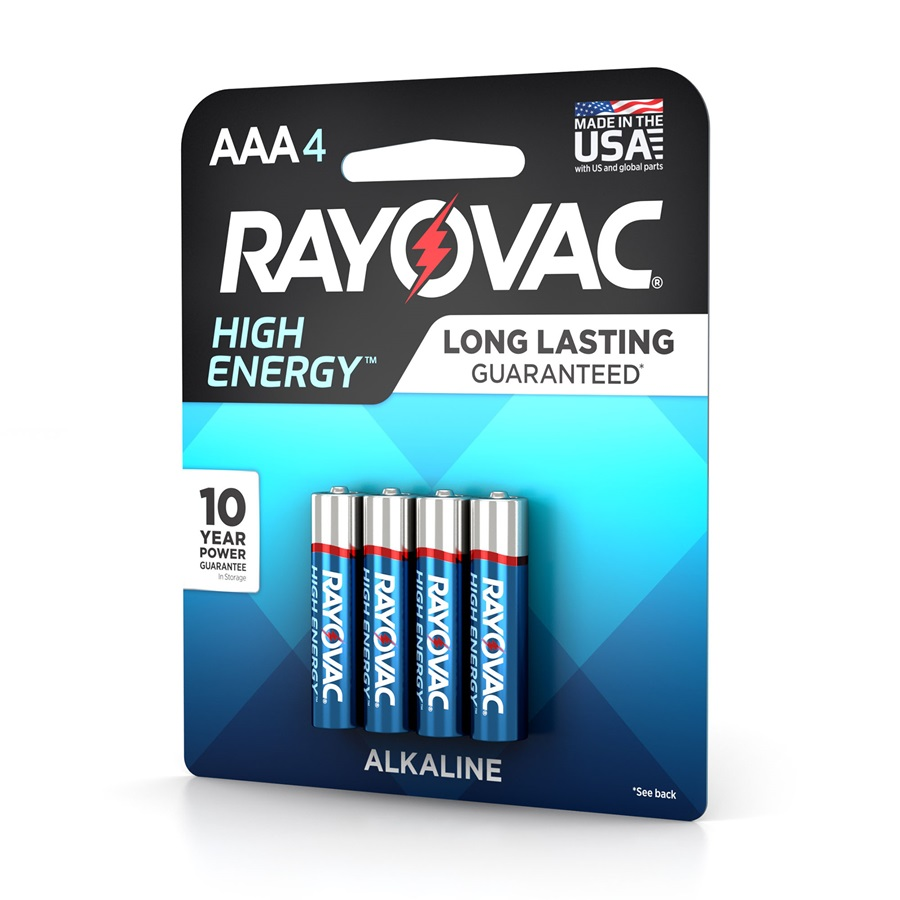 824-4K AAA 4-Pack HIGH ENERGY™ Alkaline Batteries