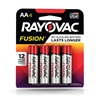 RAYOVAC® Fusion alkaline batteries AA 4 Pack