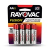 RAYOVAC® Fusion alkaline batteries AA 8 Pack