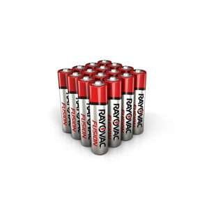 RAYOVAC® fusion™ alkaline aaa size batteries 16 pack