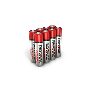 RAYOVAC® fusion™ alkaline aaa size batteries 8 pack