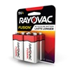 RAYOVAC® Fusion alkaline batteries 9V 4 Pack