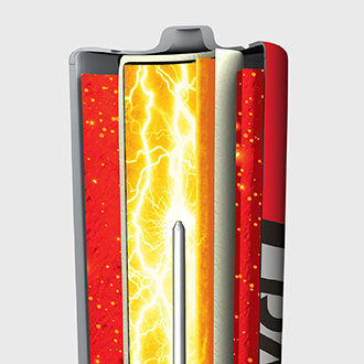 RAYOVAC® Fusion™ provides more power