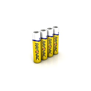 Rayovac Zinc Carbon Heavy Duty AAA Battery 4 Pack
