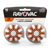 Rayovac Hearing Aid Batteries Size 13 16 Pack