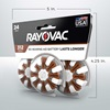 rayovac hearing aid batteries size 312 24 pack 5