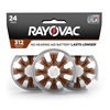 Rayovac Hearing Aid Batteries Size 312 24 Pack