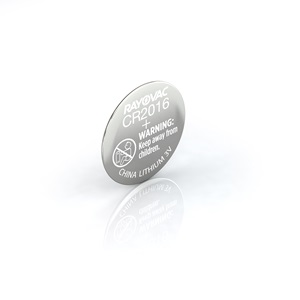Rayovac® kecr2016-1c lithium coin cell batteries