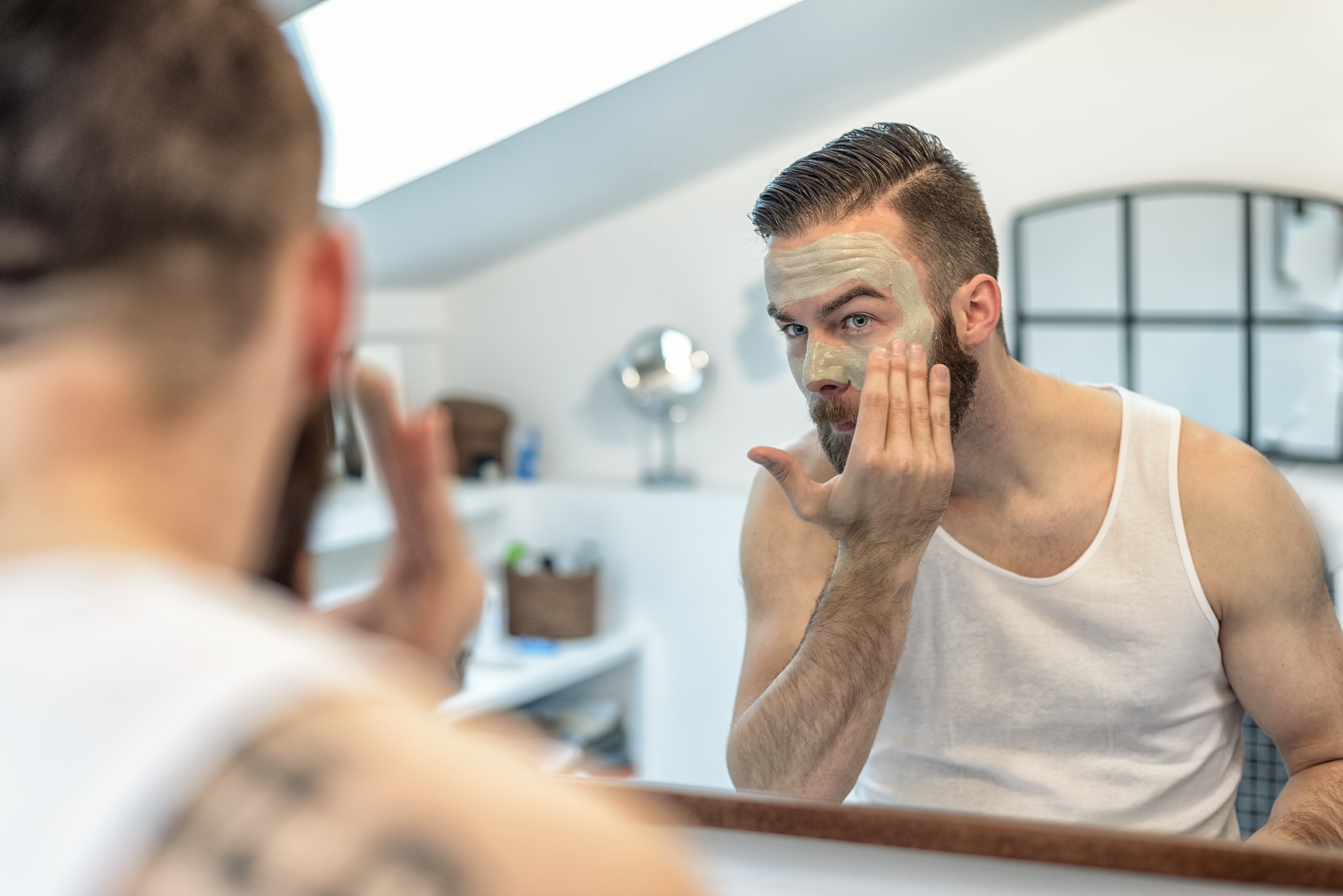 How To Exfoliate Facial Hair Solution For How To For Dummies Shaved Sides  Hairstyle
