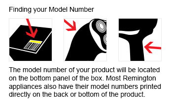 find model number pop up