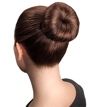 Perfect Bun Brunette Model