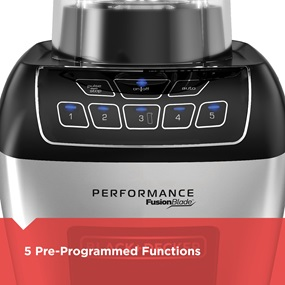 5 pre-programmed functions