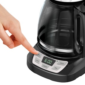 Black And Decker Coffee Maker Cm1050b Instructions : 12-Cup Programmable Coffeemaker BLACK + DECKER