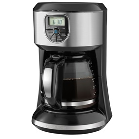 Shop BLACK+DECKER Coffeemakers now! 12-Cup Programmable CM4000S BLACK + DECKER