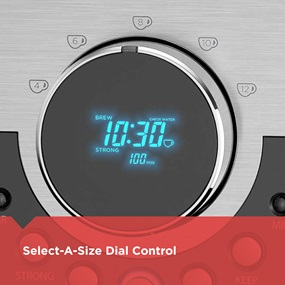 Select a size dial control CM4200S
