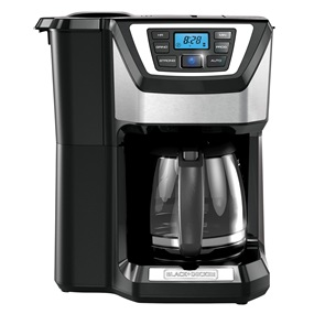 12-Cup Mill & Brew Coffeemaker